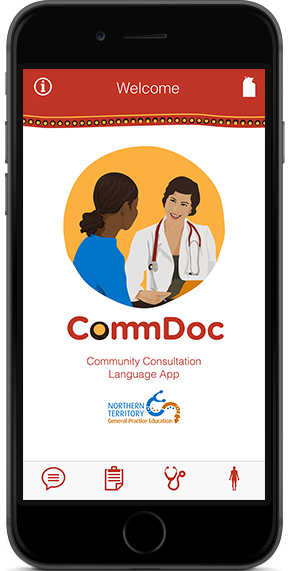 CommDoc: a cultural language app for health workers in remote Australia