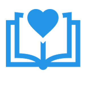 elearn Australia logo - Book and heart