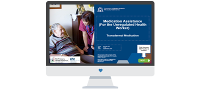 Online training for remote and regional aged care workers